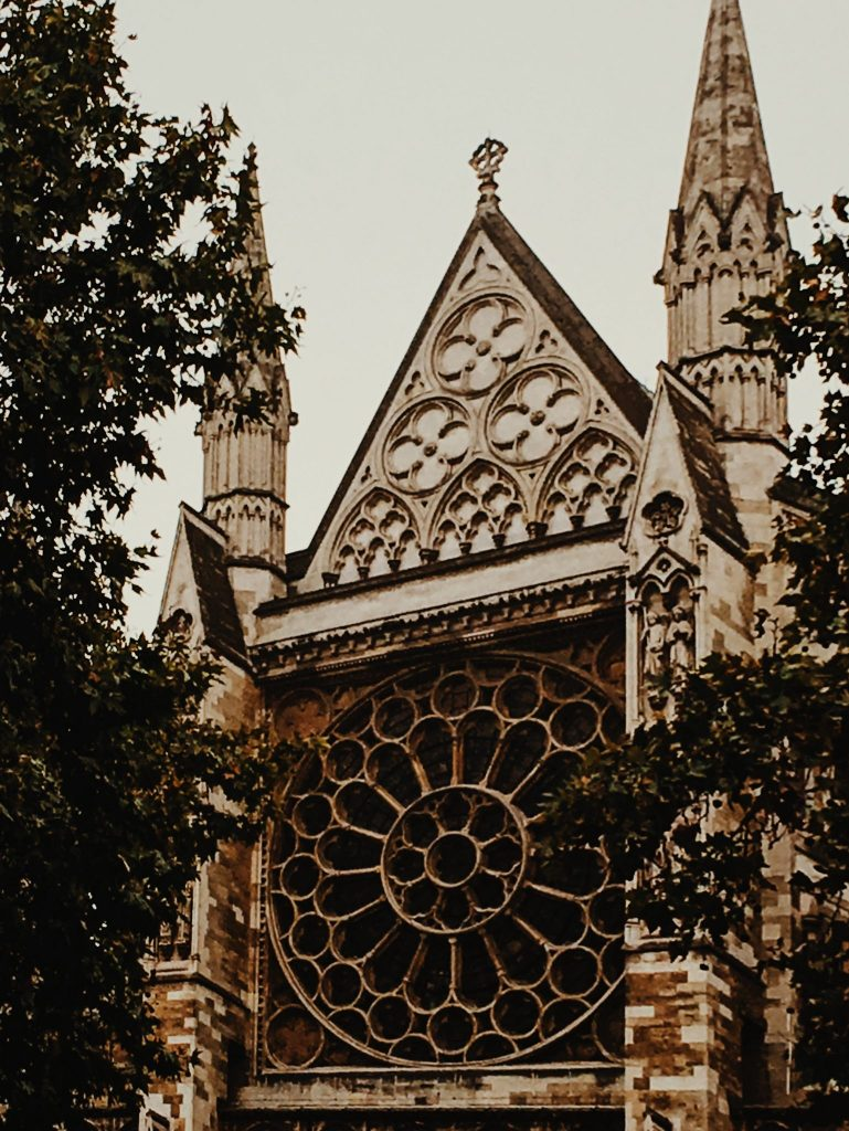 Part of Westminster Cathedral
