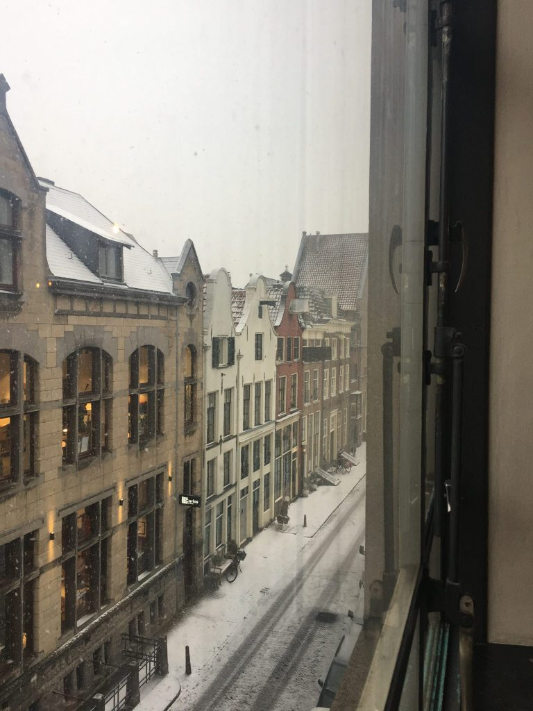 Snow in the streets